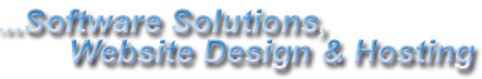 Software Solutions, Website Design and Hosting